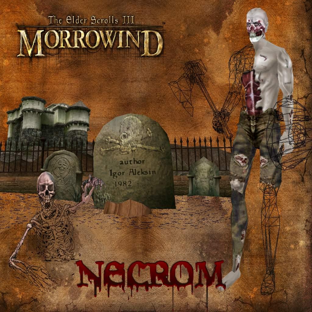 Morrowind плагин секс